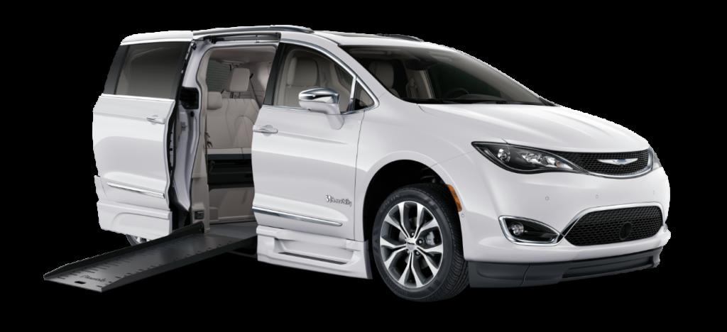 silver mobility van