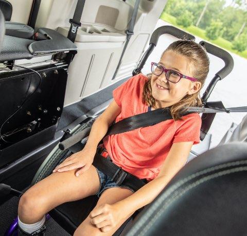girl in van